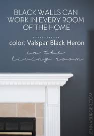black is bold black is neutral how to make black walls work in every