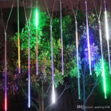 garden led lights. 20cm 30cm 50cm Meteor Shower Rain Tubes Led Mini Lights Strings Light For Christmas Wedding Garden Decoration String Lantern