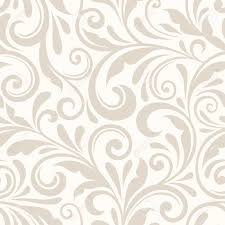 Pattern Vector Beauteous Vintage Seamless Beige Floral Pattern Vector Illustration Royalty