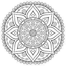Dolphin Mandala Coloring Pages Soidesigninfo