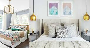 pendant lights bedroom collage