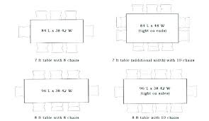 round table sizes dining table dimensions for 8 standard dining table sizes typical dining room table round table