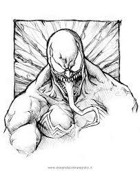 Disegno Venom07 Personaggio Cartone Animato Da Colorare