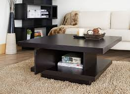square living room table attractive dark wood coffee foter pertaining to 8