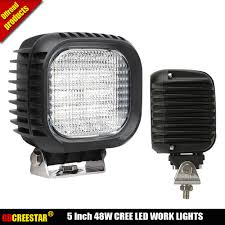 Truck Work Lights Us 39 9 5inch 48watt Led Work Lights Super Bright Ip67 Emark Led Driving Lights Used For Truck Car Industrial And Mining Lamps X1pc In Light