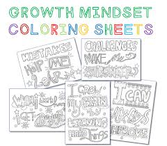 Growth Mindset Poster For Kids Big Life Journal Simple Challenges Make Us Strong