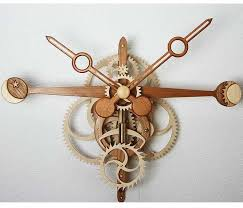 wooden clock plans and complete kits for scrollsaw and cnc