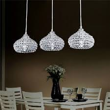 dinggu™chrome finish modern  lights crystal chandelier pendant