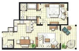 Plan Type Cuisine Luxe Plan D Une Maison Moderne Divinement Dune
