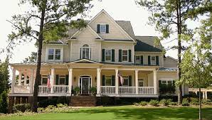 wood american style house plans