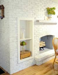 chalk paint fireplace couture brand for a painted white brick or stone with electric