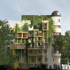 architecture design house. Malka Architecture Has Proposed Adding Cubed Parasitic Extensions To An Apartment Building In Paris Design House U