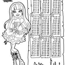 Small Picture Monster High Coloring pages Free Online Games Videos for kids