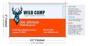 Standard Business Card Size Uprintingcom
