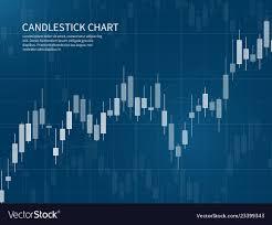 Candlestick Stock Chart Candlestick Chart Financial Market Growth Graph