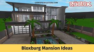 bloxburg mansion ideas for rich players