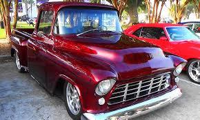 Truck chevy 1955 truck : 1955 Chevy Street Truck Cruisin The Coast 2014 - YouTube