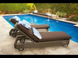 swimming pool lounge chair. Pool Lounge Chair~Outdoor Chair And Ottoman Swimming