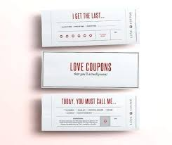 Free Printable Love Coupons Template Coupon Book For Boyfriend