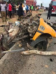 4 Killed In Horrific Car Crash At Nsawam - Ark FM 107.1MHz
