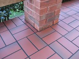 outdoor tile over concrete. Fabulous Tile Over Concrete Patio Outdoor Decor Photos Basketweave With Quarry E