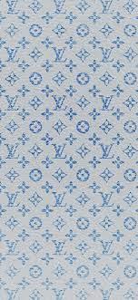 Louis Vuitton blue pattern art iPhone X ...