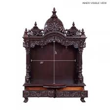 indian temple designs for home. indian spiritual wood pooja mandir for home in usa - 280814_3054 sevan mandir, temples temple designs i