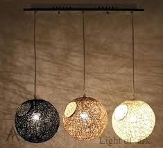 diy pendant light cover nature cover led living room lights bedroom lamp fashion rustic lamp personalized