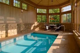 Indoor Pool eclectic-pool