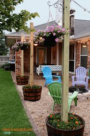 Outdoor patio lighting ideas diy Depot 20 Cheap Diy Ideas To Make Your Yard More Cheerful Pinterest 20 Cheap Diy Ideas To Make Your Yard More Cheerful Landscaping