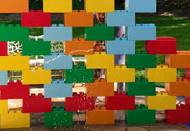 lego corporate office. Colorful Modular Wall Lego Corporate Office