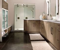 modern bathroom cabinets. Modern Bathroom Cabinets In Thermofoil By Kitchen Craft Cabinetry