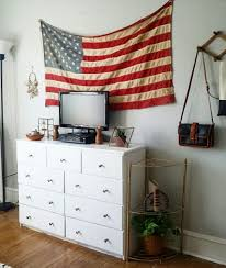 Southwestern Bedroom Furniture Vintage American Flag Southwestern Bedroom Apartment Therapy