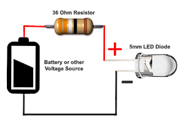 5mm leds led autolamps load resistor wiring diagram 5mm example circuit