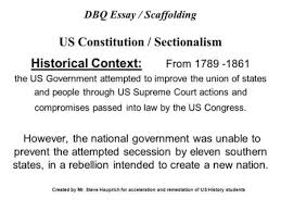dred scott a suit for dom ppt video online  dbq essay scaffolding us constitution sectionalism