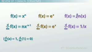 Applying The Rules Of Differentiation To Calculate
