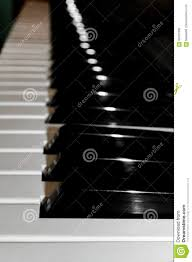 Bright Lights And Cityscapes Piano Receding Into The Distance Black And White Piano Keyboard