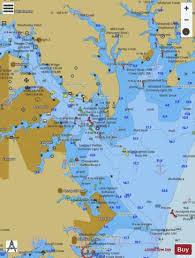 Annapolis Harbor Marine Chart Us12283_p642 Nautical