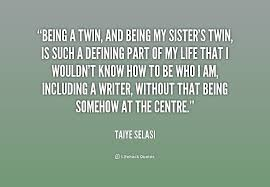 Twin Quotes Enchanting Twin Quotes And Sayings On QuotesTopics