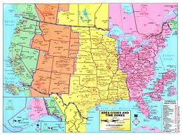 time zone map of the united states nations online project us time