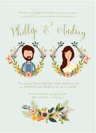 best 25 illustrated wedding invitations ideas on pinterest Personalised Drawing Wedding Invitations 19 totally stunning watercolor wedding invitations Peacock Wedding Invitations