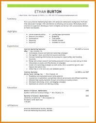 Social Media Resume Template Social Media Resume Template Charming ...