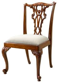 Theodore Alexander Seated in Rococo Splendour Dining Chair