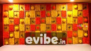 amazing marigold flower wall decor pre post party decoration