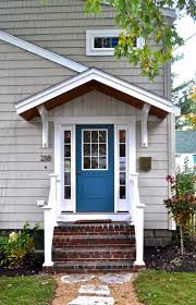 exterior door roof overhang. peacock front door (\u0027refuge\u0027 by sherwin williams) exterior roof overhang t