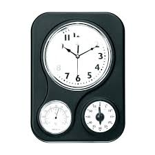 chaney wall clock clocks wrought iron premier housewares spoke antiqued instruments