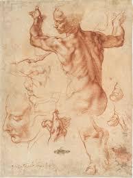 michaelangelo stus for the libyan sibyl ca 1510 11 photo michelangelo buonarroti courtesy of the metropolitan museum of art
