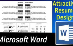 Free Microsoft Word Resume Template Archives Hbn Infotech