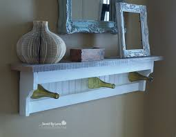 Coat Rack Shelf Diy DIY Wine Bottle Craft Coat Rack 87