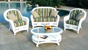 White Wicker Patio Furniture Clearance White Wicker Outdoor Patio